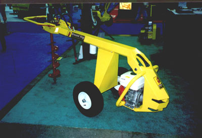 One Man Hydraulic Post Hole Digger